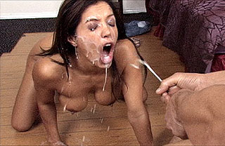 milfs with cum on face